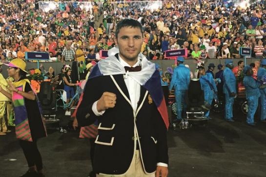 Андрей Замковой проиграл в1/16 финала олимпийского турнира побоксу