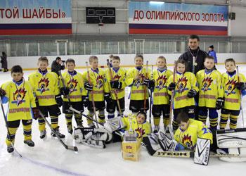 Семилетние хоккеисты взяли «золото» и «бронзу» на первом в их карьере выездном матче