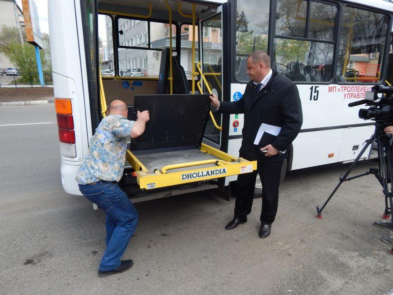 Новые автобусы оснащены