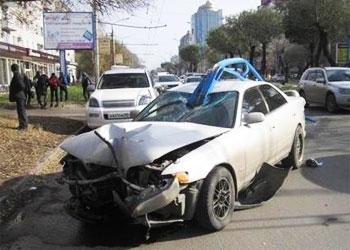 Пьяный водитель стал причиной трагедии на трассе Бийск - Белокуриха.