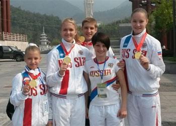 С первенства и чемпионата мира по ушу амурские спортсмены везут четыре «золота», два «серебра» и две «бронзы»